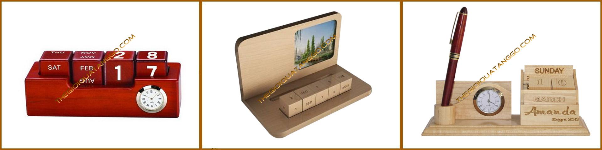 lịch gỗ để bàn trang trí 4
