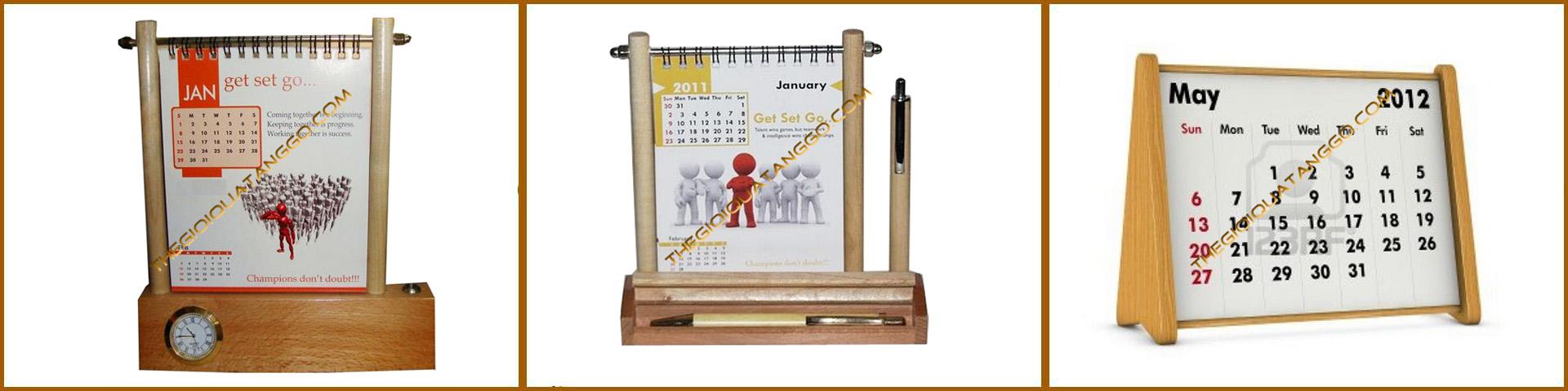 lịch gỗ để bàn trang trí 6